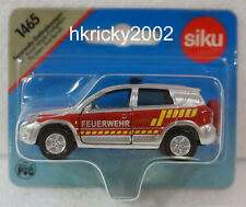 Siku Super 1465 Toyota RAV4 Off-Road Terrain Vehicle Firefighters Car Model