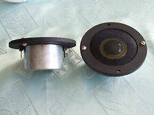 NEW 2  GAMMA HA3731  ALNICO MAGNET SOFT DOME TWEETER SPEAKERS VINTAGE