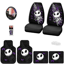 8PC JACK SKELLINGTON NIGHTMARE BEFORE CHRISTMAS CAR SEAT COVER SET FOR BMW
