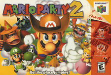 ***MARIO PARTY 2 N64 NINTENDO 64 GAME COSMETIC WEAR~~~