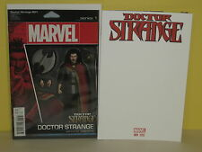 DR. STRANGE #1 - Action Figure & Blank Sketch - 2 VARIANTS - Aaron BACHALO - MCU