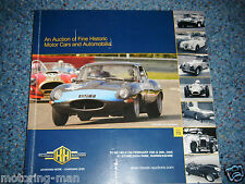H & h auction catalogue février 2005 nº 70 Stoneleigh surtees TS11 jaguar XJ220