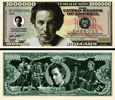 Bruce Springsteen Million Dollar Bill Collectible Novelty Note