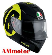 Agv K3 Sv Top Bollo 46 Black Yellow Casco Sz ML 59 60 Pinlock New 2017