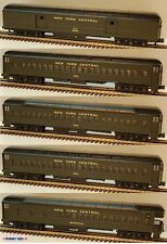 O Scale MTH 20-4005 New York Central 5-car 70' Madison Passenger