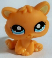 Littlest Pet Shop #1371 Orange Kitten Target Easter Egg Blue Eyes Toy LPS Hasbro