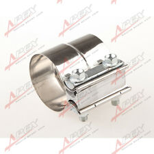 """2.25"""" Stainless steel  Lap Joint Band Clamp Exhaust Clamp"""