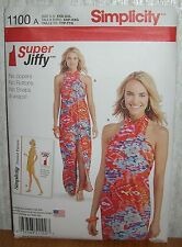 Womens/Misses Super Jiffy Cover Up Sewing Pattern/Simplicity 1100/SZ XXS-XXL/UCN