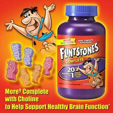Flintstones complete Children's Vitamin 200 Chewable Tablets Multivitamin Chewy