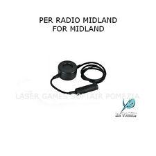 ADATTATORE PER CUFFIA PTT EL-Z114 COMPATIBILE RADIO MIDLAND  SOFTAIR E MILITARI
