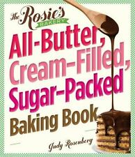 The Rosie's Bakery All-Butter, Cream-Filled, Sugar-Packed Baking Book, Brand New