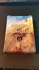 1x Empty Deck Box HEROES VS MONSTERS RG NM/SP Condition MTG Magic FTG