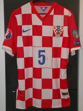CROATIA NATIONAL TEAM MATCH WORN SHIRT EURO 16 MANCHESTER TOTTENHAM  ENGLAND