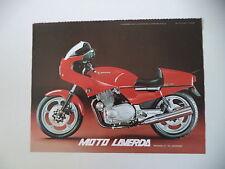 advertising Pubblicità 1982 MOTO LAVERDA RGS 1000