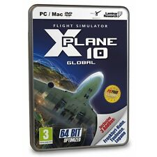 X-Plane 10 (Global 64-bit) PC & MAC Game (with Frankfurt-Hahn, Toulouse and L...