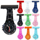 Plastic Quartz Fob Nurses Watch Yellow Blue Purple Pink White Nurse Watches