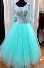 Competition Ballroom Standard Waltz Tango Dance Dress US 8 UK 10 Same Color
