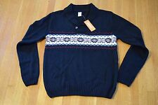"""NWT Gymboree """"Very Merry"""" Christmas Holiday Dad Sweater Men's Sz M? (see desc)"""