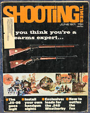 Vintage Magazine SHOOTING TIMES June 1971 !!! How to Outfox the Fox !!!