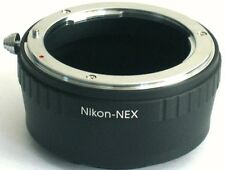 Nikon F AI AIS Lens to Sony E Mount Adapter for NEX NEX-5R NEX-6 NEX-7 AI-NEX