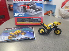 LEGO CRAZY ACTION CONTRAPTIONS AND OFF ROAD MOTORCYCLE