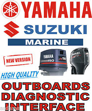 YAMAHA SUZUKI OUTBOARD USB YDS SDSboat diagnostic kit cable interface