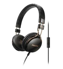 PHILIPS SHL5505BK/00 CITISCAPE FOLDIE ON EAR HEADPHONE EARPHONE MIC BLACK NEW