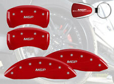 2007-2008 BMW X5 Logo Red Brake Caliper Covers Front Rear & Keychain