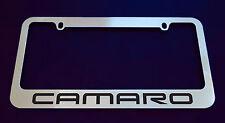 1 CHEVROLET CAMARO V1 LICENSE PLATE FRAME, CUSTOM MADE OF CHROME 1 Frame