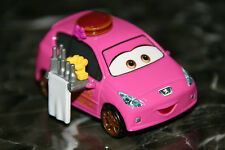 "DISNEY PIXAR CARS 2 ""MARY ESGOCAR""  LOOSE, SHIP WORLDWIDE"
