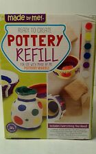 Pottery Refill for Kids Pottery Wheel Clay and Sculpting- 4 Bags of Clay & More