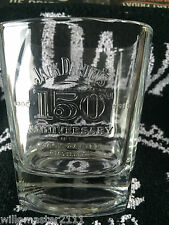 ONE JACK DANIELS 150th BIRTHDAY ANNIVERSARY  OF DISTILLERY  GLASS FROM 2016