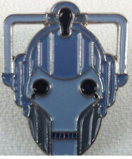 Cyberman Head Doctor Who Science Fiction TV Series- Enamel Pin