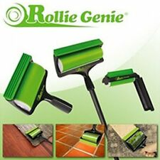 Rollie Genie 3Pc Reusable Lint Roller, Washable, Sticky Dust Cob Web etc Remover