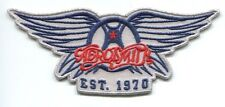 AEROSMITH 'EST. 1970' EMBROIDERED IRON-ON PATCH **FREE SHIPPING** -c p4158 wings