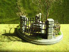 21 pc. Fencing Set Set Unpainted Ceramic Thomarillion Terrain Dwarven Forge D&D