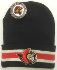 NWT NHL Ottawa Senators Logo 7 Cuffed Winter Knit Hat Cap Beanie NEW!