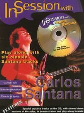 In Session With CARLOS SANTANA TAB Guitar Music Book