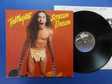 TED NUGENT  SCREAM DREAM epic 80 Dutch Lp NEX