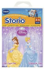 BNIB VTECH DISNEY PRINCESS STORIO INTERACTIVE E-READING SOFTWARE LEARN & PLAY