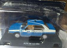 """DIE CAST """" ALFA 90 1.0 - 1984 """" POLIZIA SCALA 1/43"""