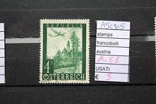 FRANCOBOLLI AUSTRIA USATI N. A51 (A54905)