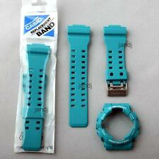 ORIGINAL CASIO G-SHOCK REPLACEMENT BAND & BEZEL, GA-110SN-3A GA110SN, MINT GREEN