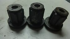 83 HONDA CB550SC NIGHTHAWK CB550 HM241B ENGINE MOTOR MOUNT BUSHING SET