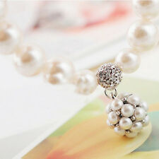 New Charm Pearl Bracelet With Pearl Ball Pendant Elegant Jewelry Gift for Women