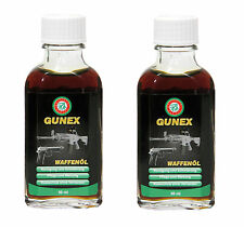 2x 50 ml BALLISTOL GUNEX Gun Oil Lubrication Maintenance Rust Protect NO Gumming