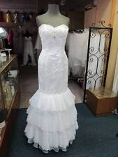 6742 WHITE Tiffany Prom Dress Pageant Homecoming Bridal Gown sz 6 NWT orig$450