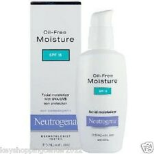 115 ML x 2 bottle  Neutrogena Oil-free Facial Moisturizer Absorbs Quickly SPF15