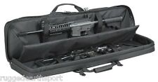 "Black Vism 36"" Double Carbine Rifle .223 5.55 7.62 Tactical Gun Case Backpack"