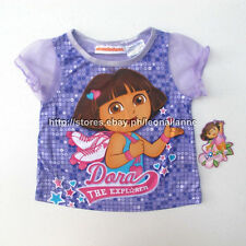 67% OFF! AUTH DORA GIRL'S SOFT TULLE SLEEVES TOP 12 MOS BNEW SRP US$ 5.97